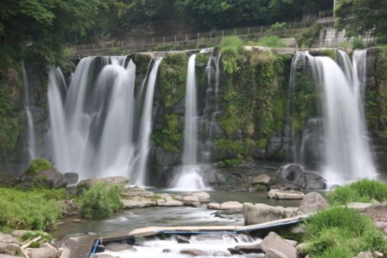 桐原の滝風景