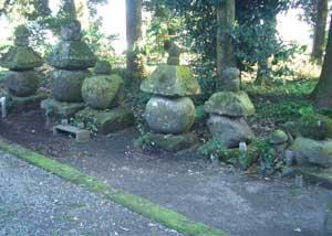 熊野神社の五輪塔