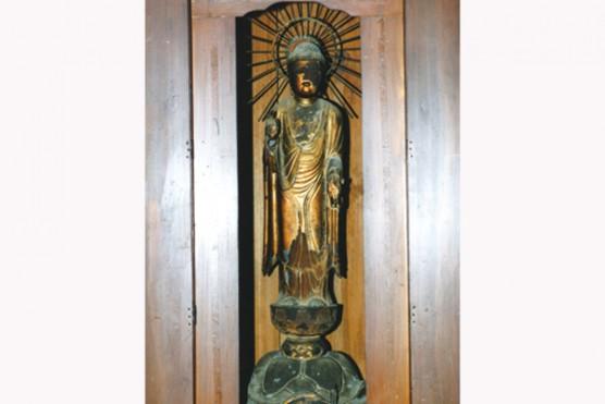 大蔵寺の木造阿弥陀如来立像