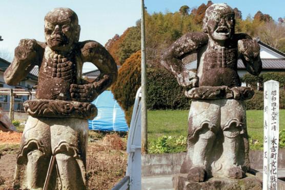 光明寺の仁王像