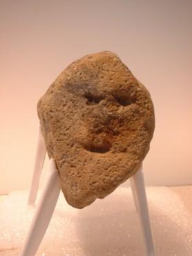西原段2遺跡出土の岩偶