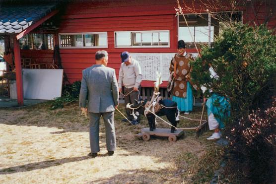世貫神社の御田植祭