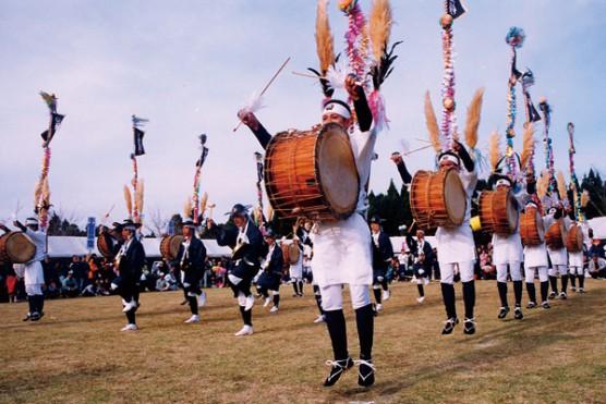 七村太鼓踊り