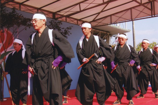 東部公民館鎌踊り